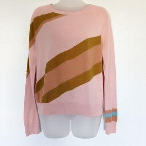 Anthropologie MOTH Retro Stripe Sweater
